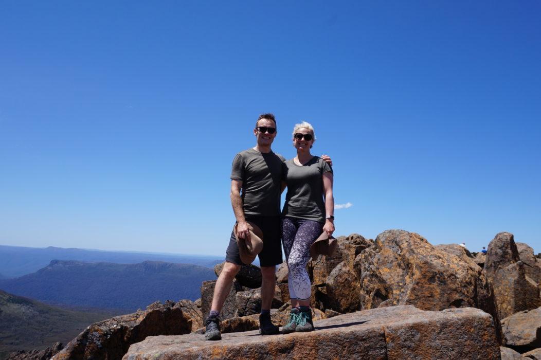 On the summit of Mt. Ossa