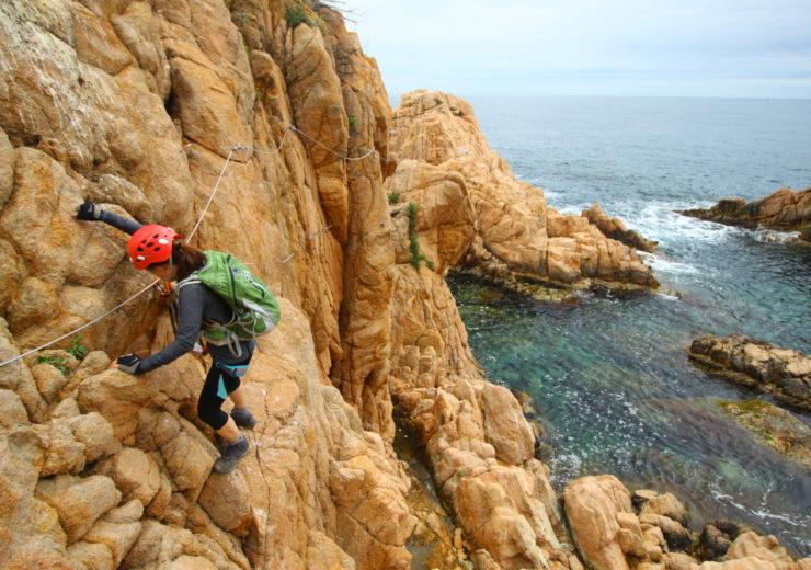 Above the waves: via ferrata in Catalunya