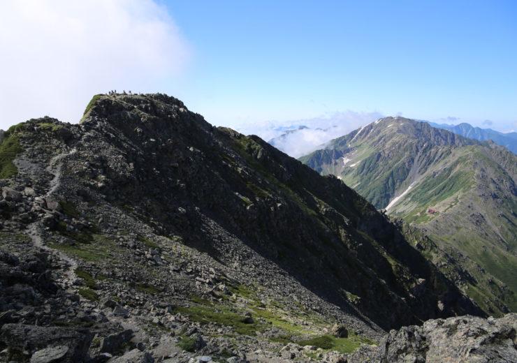 Climbing Kita-dake in the Southern Japan Alps