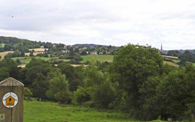 Cotswold Way Near Painswick