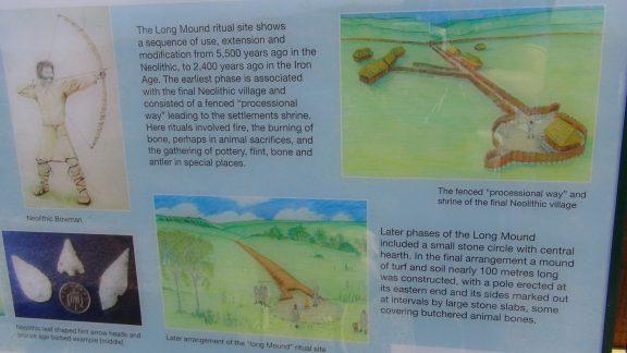 Crickley Hill information board 4
