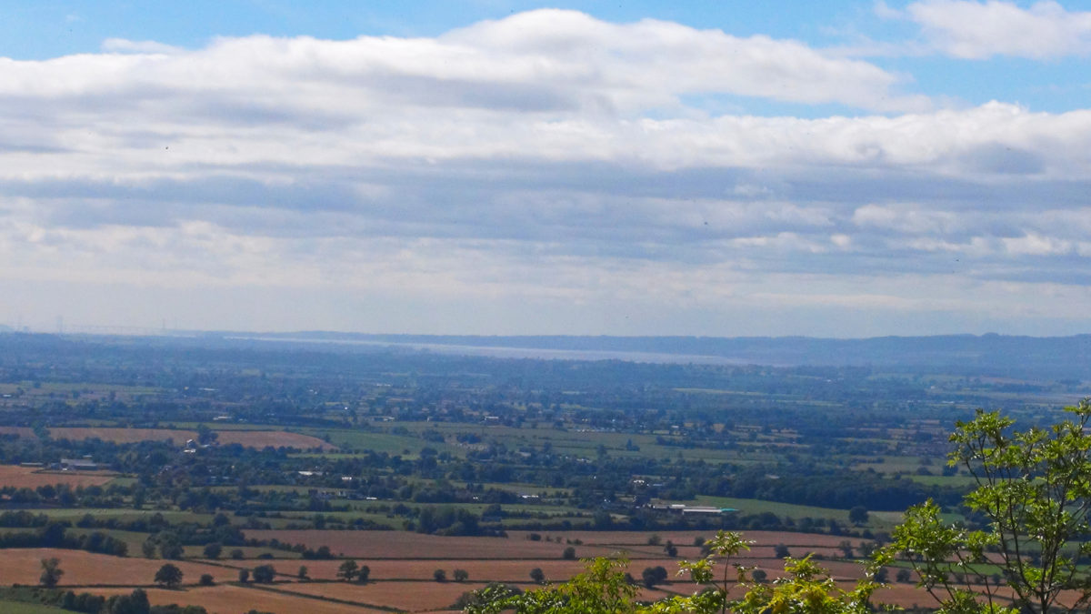 Superb views from Crickley Hill