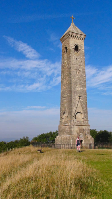 Tyndale Monument on Nibley Knoll
