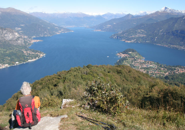 Walking around Lake Como and Maggiore in northern Italy
