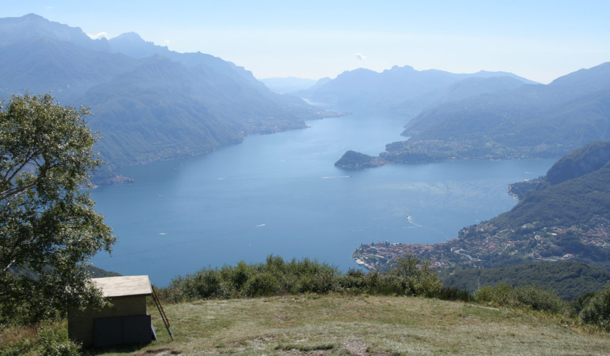 Pic6 The Vast Lake Views Enjoyed From Rifugio Menaggio