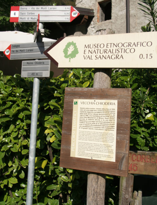 Pic3 Theres Plenty Of Signposting To Point Walkers The Right Way In Val Sanagra