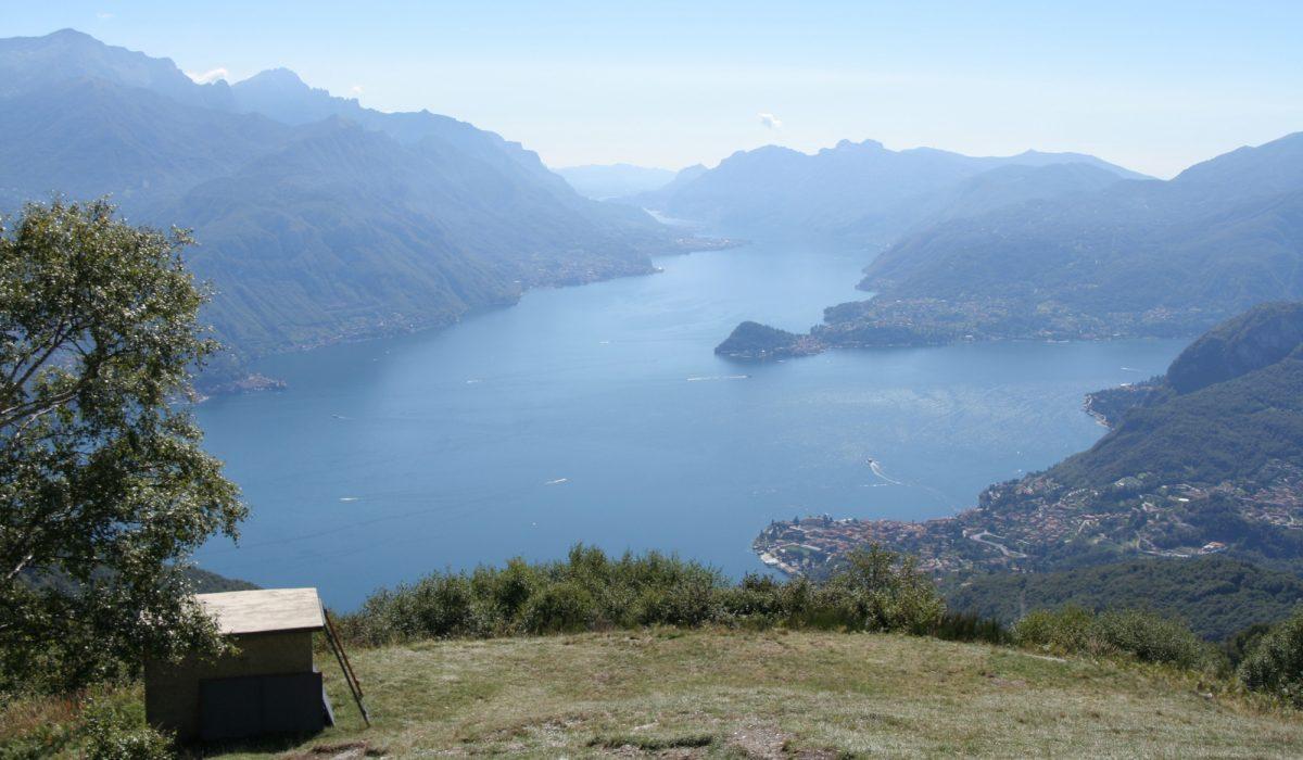Pic6 The Vast Lake Views Enjoyed From Rifugio Menaggio