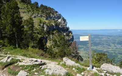 At the top of the Grand Montoir