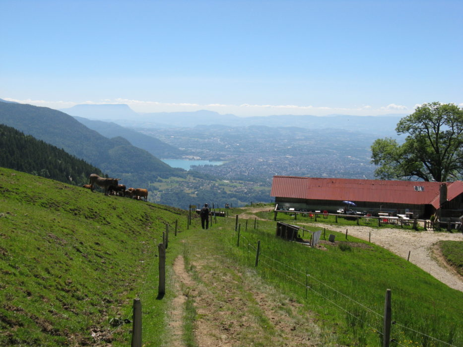 Lake Annecy from Chalet Chappuis