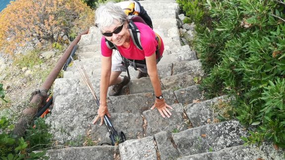 24 The Author On The Spectacular Stepped Way To Monasteroli