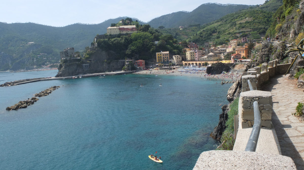 8 A Short Walk And The Hustle And Bustle Of Monterosso Al Mare Is Quickly Left Behind