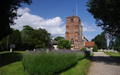 Lawford church appears in several of Constable's paintings