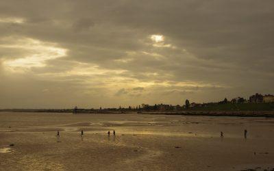 Dovercourt Bay at twilight