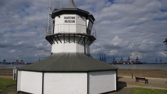The Low Lighthouse in Harwich is now a museum