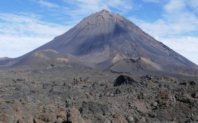 Banner Pico De Fogo Volcano On Fogo Island