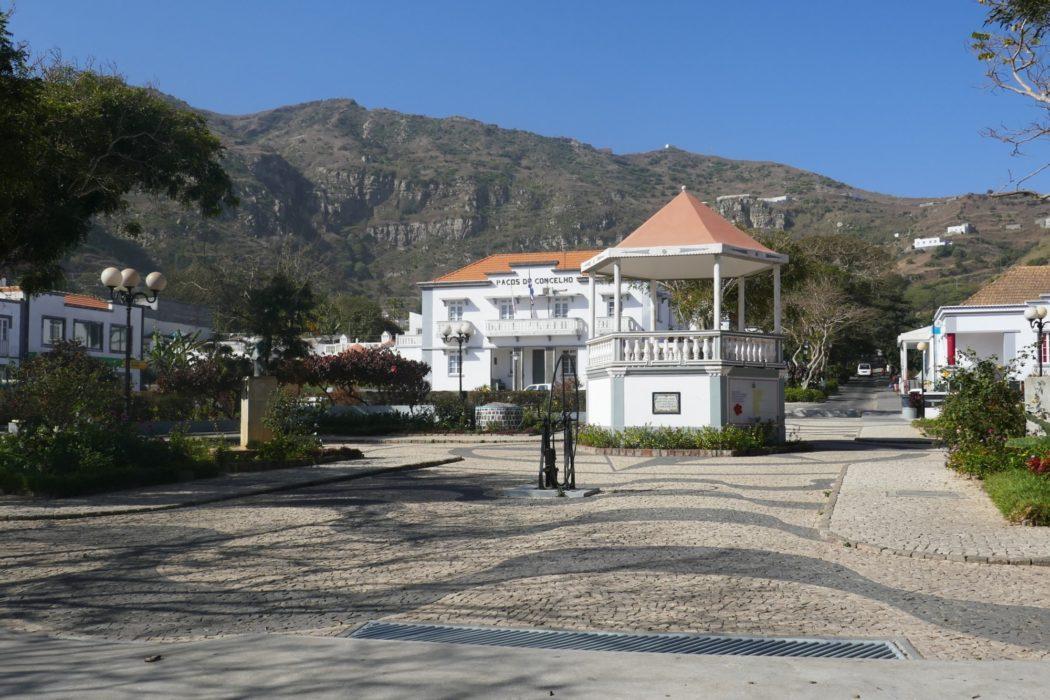 3-10 Pretty Vila Nova Sintra town on Brava island sits in the crater of an extinct volcano