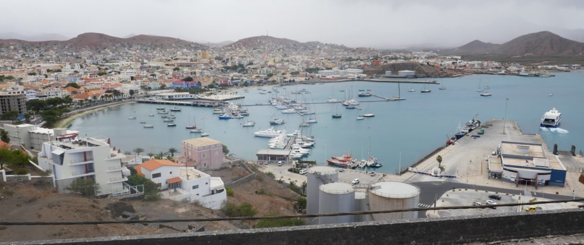 5-21 Mindelo harbour was once a coaling station for the Royal Navy