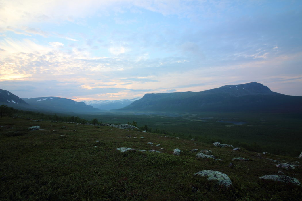 11 Much of the Kungsleden experiences 24-hour daylight in the summer season.