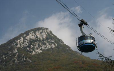 The Cable Car Ride Up Monte Baldo
