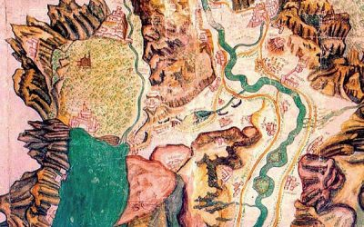 The Route The Venetian Boats Took