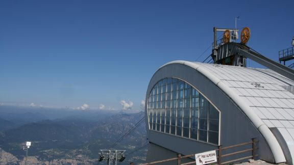 The Spectacular Cable Car Above Malcesine