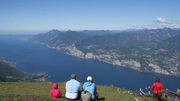 Enjoying The Breathtaking Views From Monte Baldo