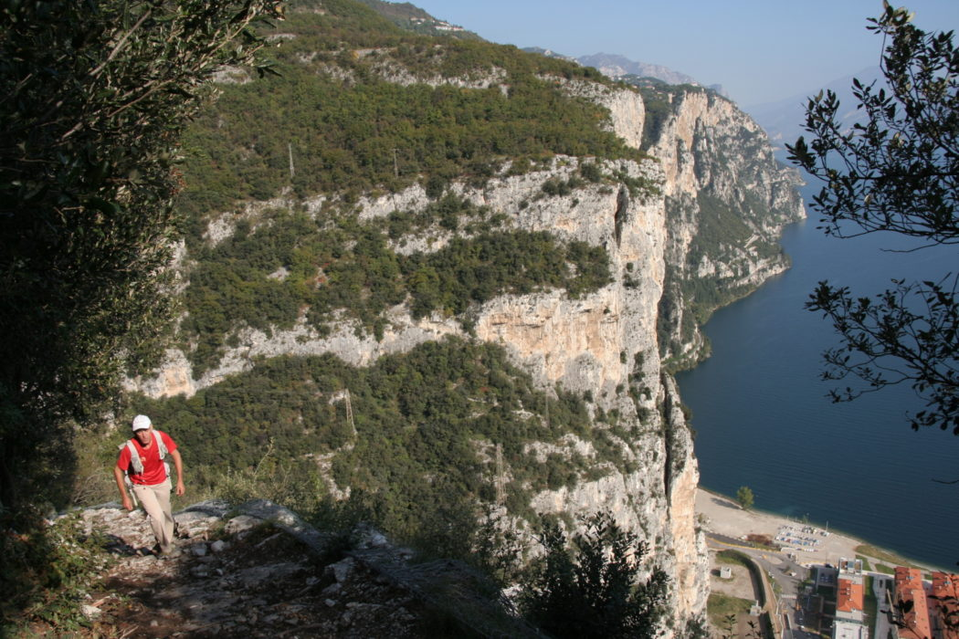 The Route From Campione Climbs To Wonderful Heights Overlooking The Village