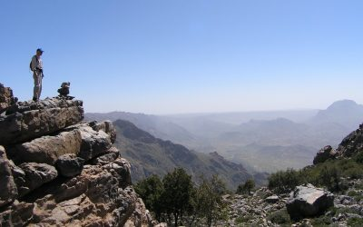 7  View From Jebel El Kest Over The Ameln Valley To Distant Adrar Mqoun