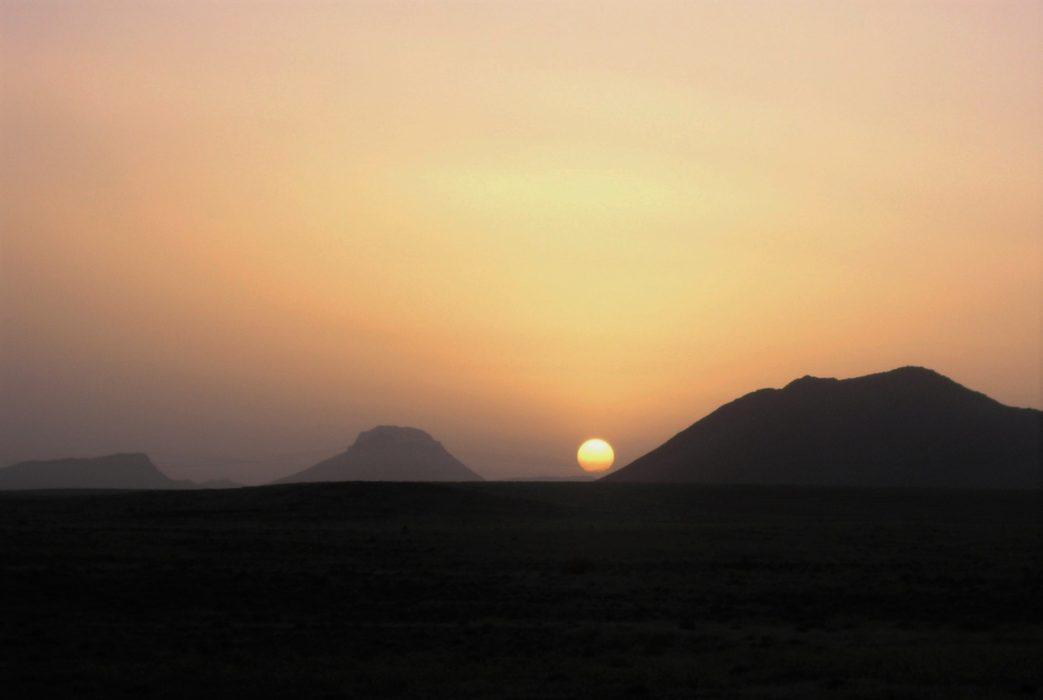 17  Sunset After A Day On The Tizi Ridge