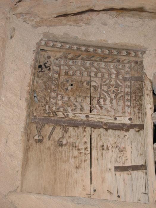 12  Door Ornamented With Symbols
