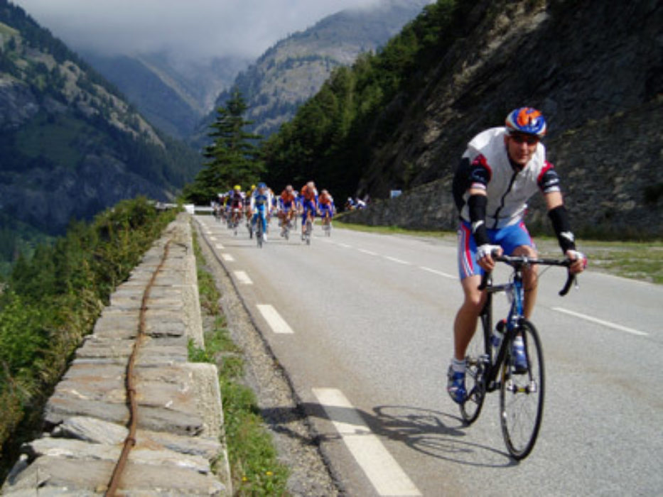 Cycle sportives in the Maurienne valley