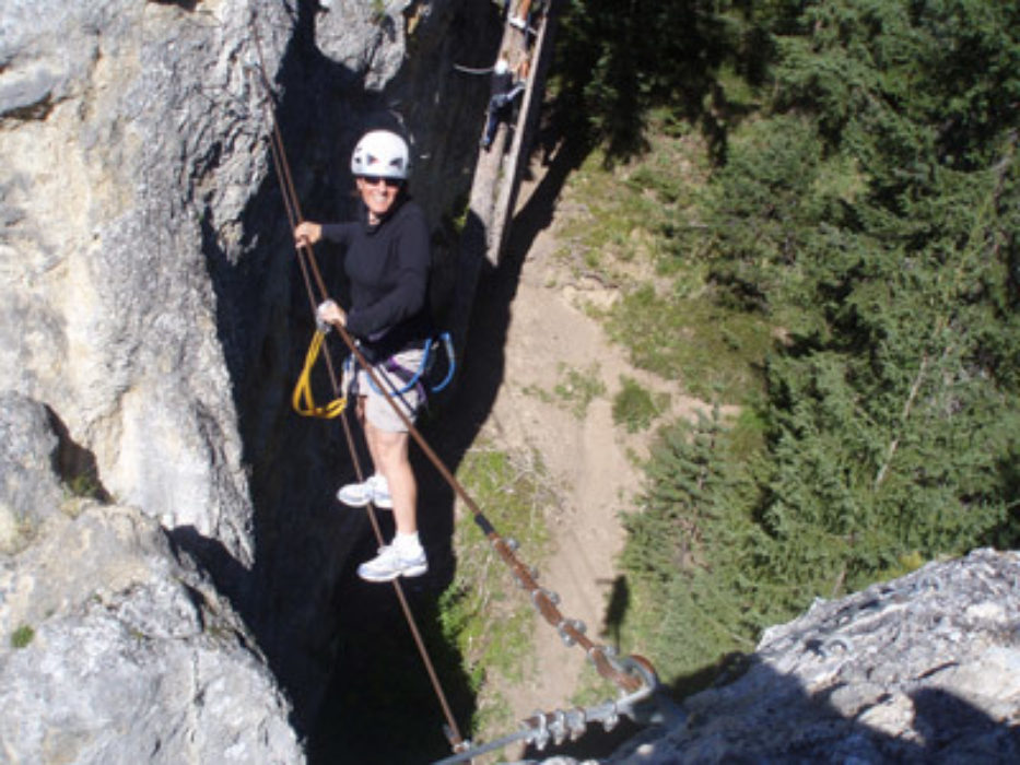 The Pinnacles via ferrata, Aussois