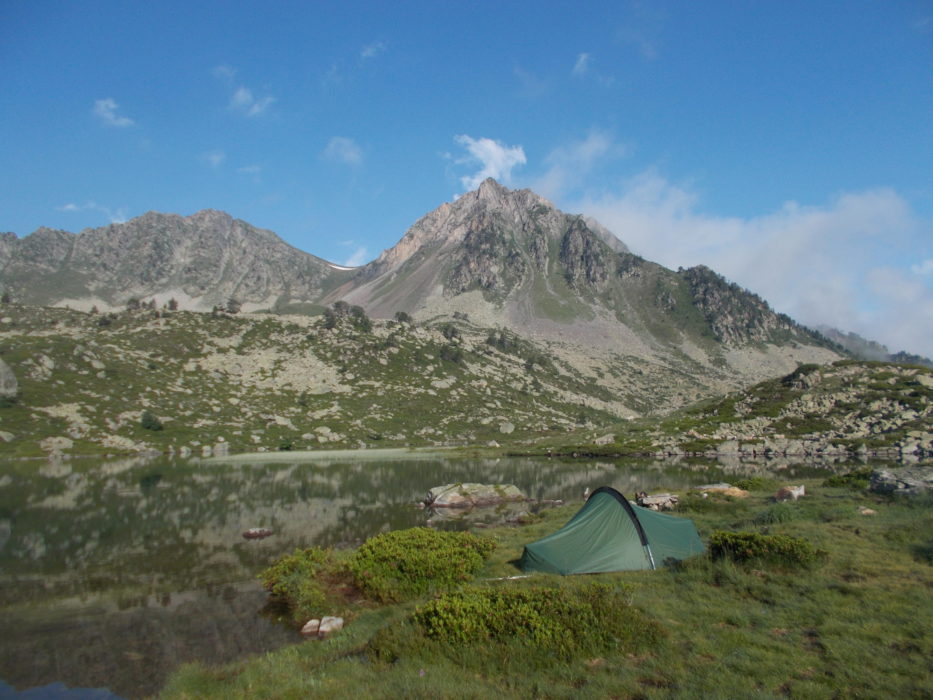 Camp at Lac Blanc
