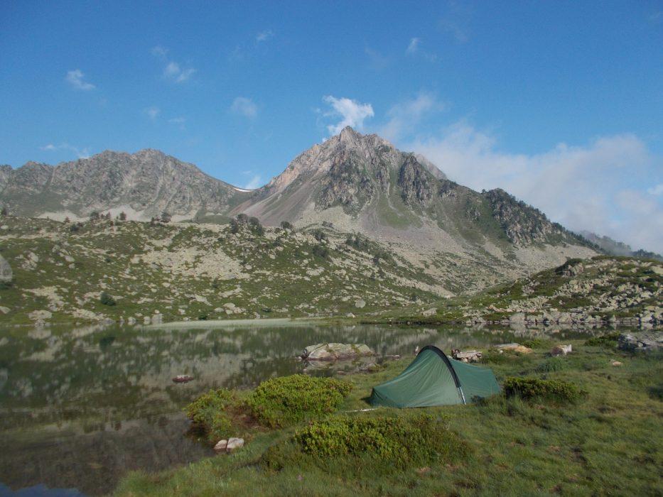 Camp at Lac Blanc