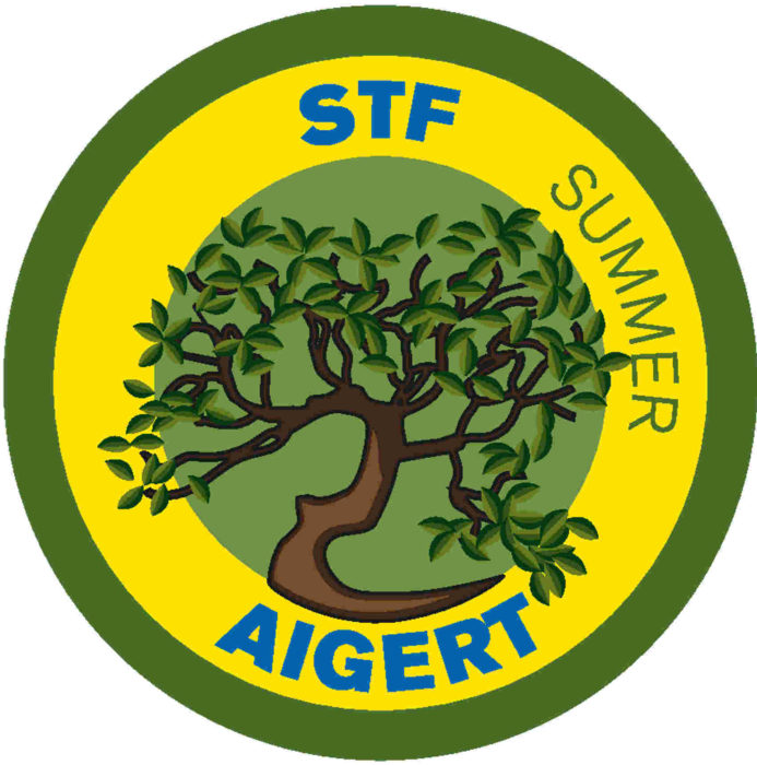 The emblem for Aigert STF Fjällstuga
