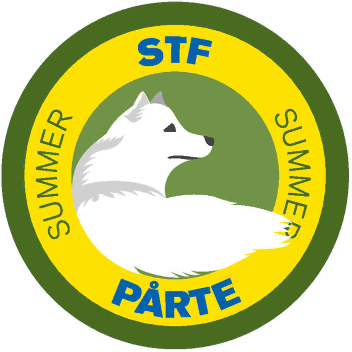 The emblem for Pårte STF Fjällstuga