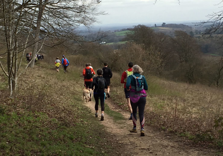 Fastpacking for Beginners event on the North Downs Way