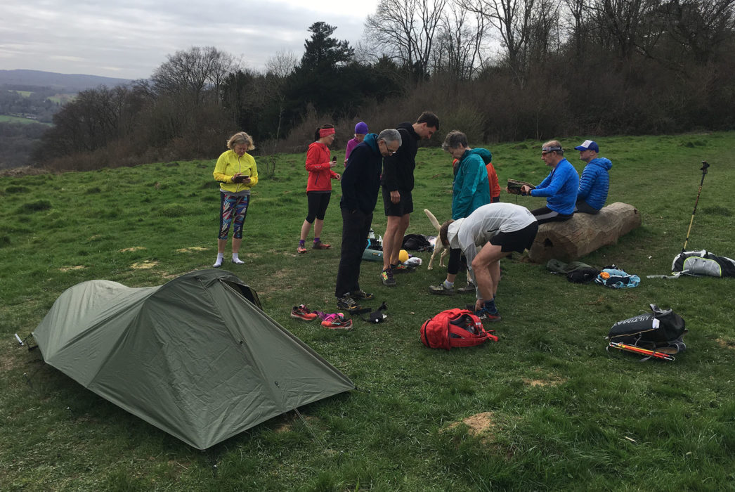 Our fastpacking, wild camping and gear demo (photo credit: Rob Close)