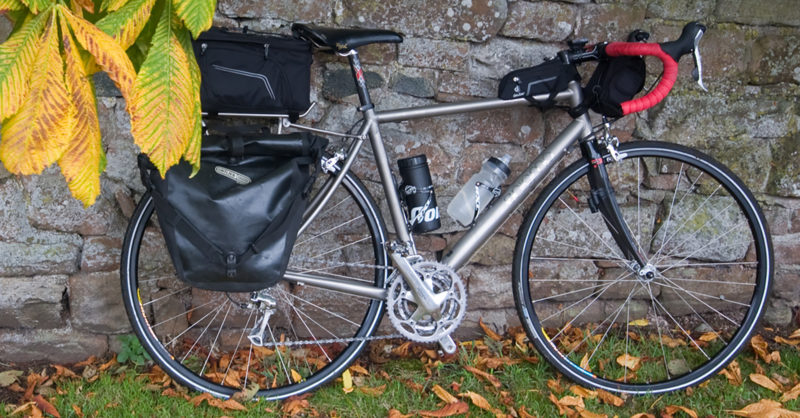 Mountain Bike Bicycle Rear Rack Carrier Seatpost Pannier Pack Frame Seat Bag Set