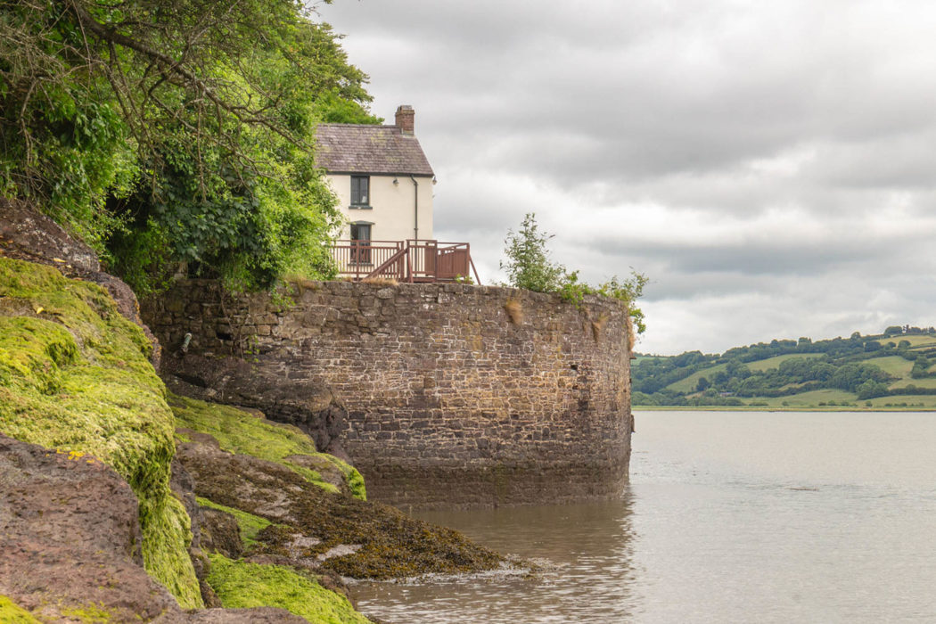 oathouse at Laugharne