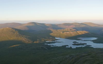 Galloway Hills and Loch Enoch seen from Merrick 11