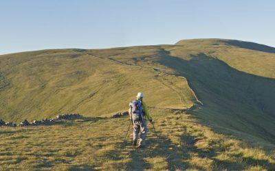 Neive of the Spit ridge to the Merrick 09