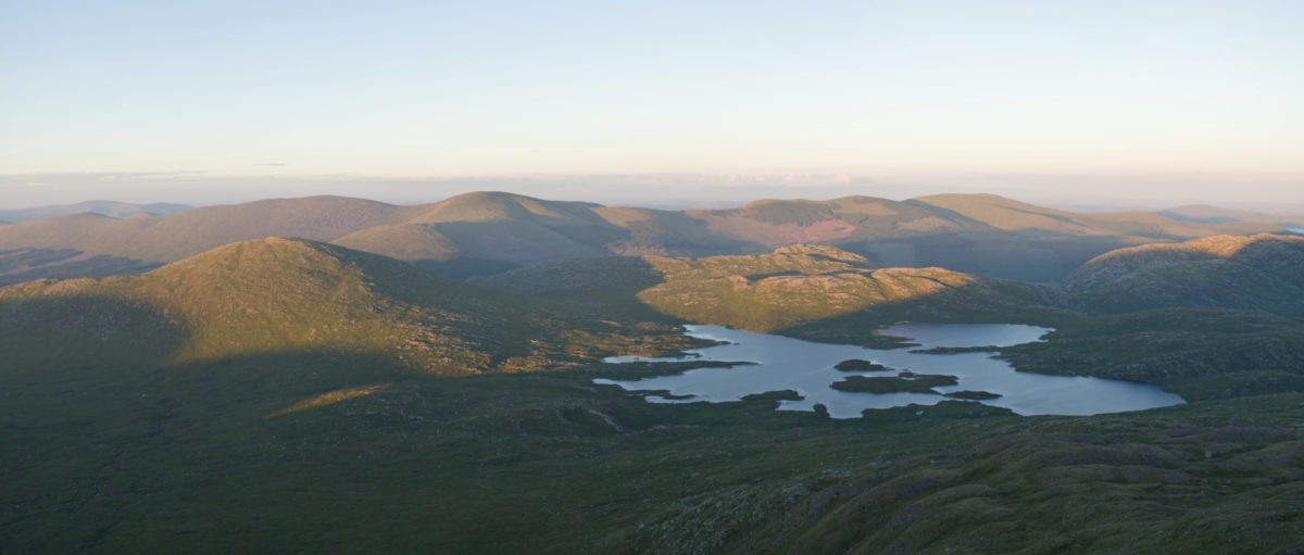 Galloway Hills and Loch Enoch seen from Merrick 11