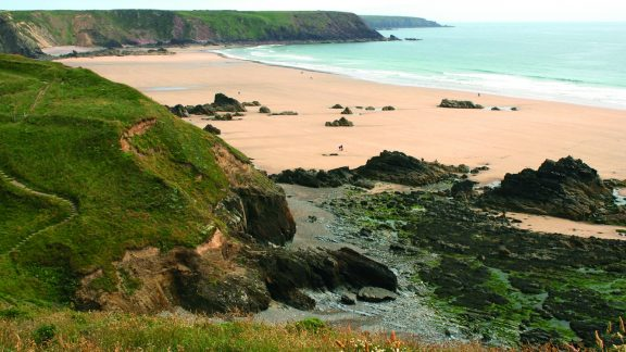 Marloes Sands From Horse Neck