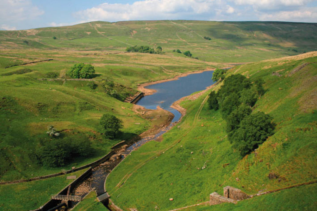 Scar House Reservoir At The Head Of Nidderdale