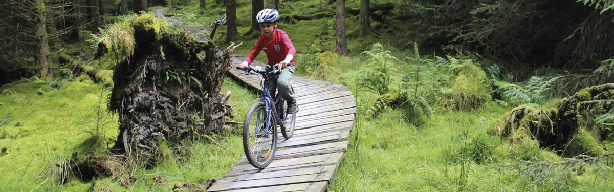 Lake District cycling with kids