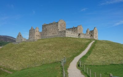 Ruthven Barracks near Kingussie: Built to keep the Highlanders in check, but sacked by the Jacobites after Culloden