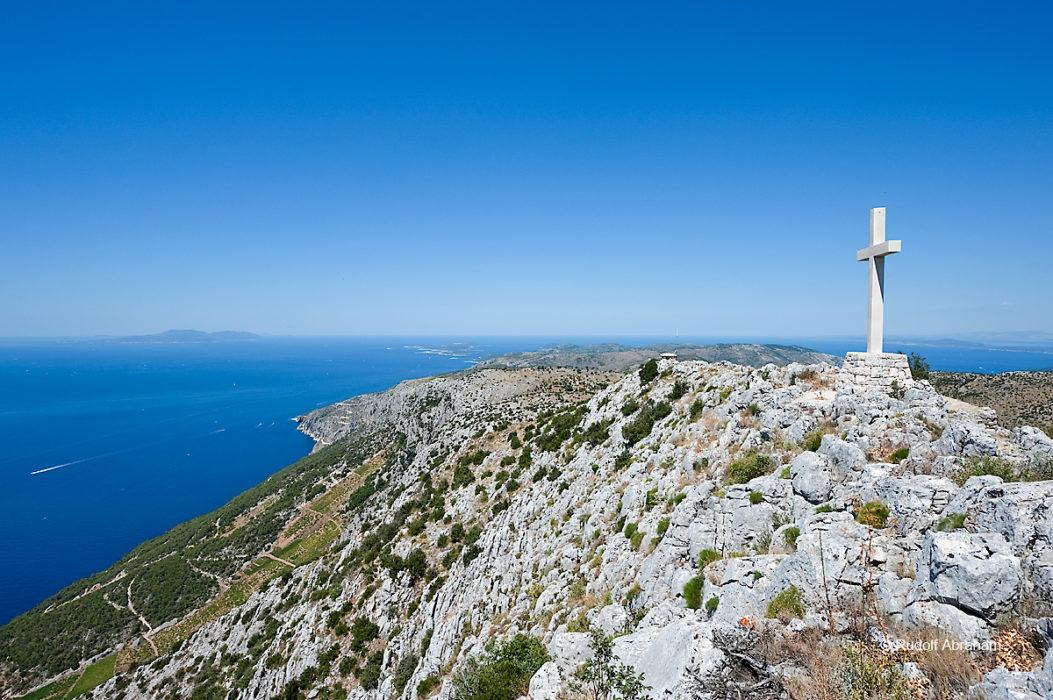 Sv Nikola, the highest point on the island of Hvar, Croatia © Rudolf Abraham