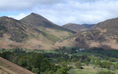 Views from the ridge near Cat Bells