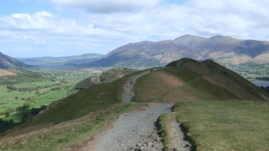 Ridge near Cat Bells
